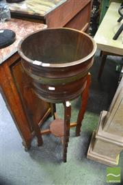 Sale 8328 - Lot 1040 - Timber Plant Stand