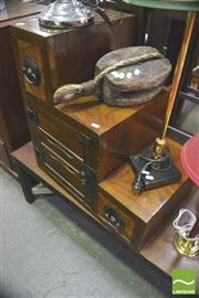Sale 8338 - Lot 1462 - Small Step Side Cabinet
