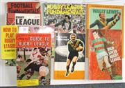 Sale 8418S - Lot 50 - BOOKS ON HOW TO PLAY RUGBY LEAGUE. (10 books) Ray Norman Football Fundamentals, Two copies of Know the Game, Rugby League, Murray's...