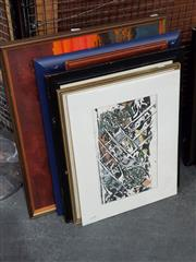 Sale 8699 - Lot 2090 - 6 Works incl Pam Glenfield - Scrap Metal, pastel, SLR