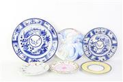 Sale 8778 - Lot 321 - Small 19th Century Meissen Plates And Other Ceramics