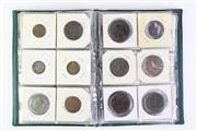 Sale 8890T - Lot 37 - A Collection of Hong Kong and Chinese Coins in Green Album