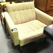 Sale 8648 - Lot 1056 - 1970s Rosewood Armchair