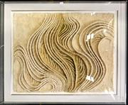 Sale 8945 - Lot 2070 - Abstract Textile by Unknown Artist (gallery perspex frame) -