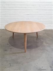 Sale 9076 - Lot 1051 - Carl Hensen and Son Occasional Table, serial no-306305 (h:48 x d:100cm)
