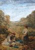 Sale 3847 - Lot 84 - Manner of MYLES BIRKET FOSTER (1825 - 1899, British) - Picnic 52 x 37.5 cm