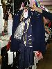 Sale 7490 - Lot 1286 - 2 SEXY AIR HOSTESSES + 1 NAVY JACKET