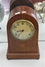 Sale 8086 - Lot 74 - WLM Gilbert Timber Cased Mantle Clock