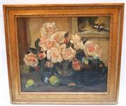 Sale 8256A - Lot 57 - Marguerite de Backer Belgium 1882-1968, Impressionist School - Still Life, Flowers 44 x 50 cm