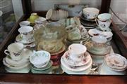 Sale 8360 - Lot 143 - Royal Albert Trios with Other Tea Wares incl. Adderley