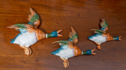 Sale 8677B - Lot 545 - Set of three graduated Beswick flying ducks
