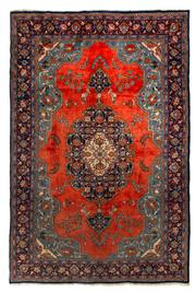 Sale 8715C - Lot 43 - A Persian Najafabad From Isfahan Region, 100% Wool Pile On Cotton Foundation, 322 x 212cm