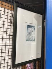 Sale 8771 - Lot 2054 - David Rankin - The Family, 1989, etching, ed. 53/75, 49 x 34cm (frame) signed lower right -