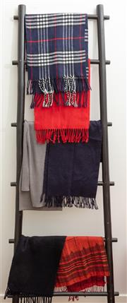 Sale 8990H - Lot 83 - A quantity of gents woollen scarves incl cashmere and acrylic