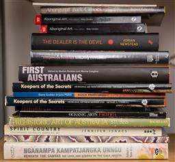 Sale 9160H - Lot 217 - Group of books including on first australians