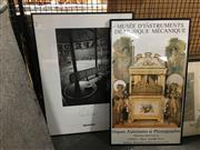 Sale 8678 - Lot 2033 - Two French Art Posters, framed/various sizes, Jean-Loup Sieff, Museum of Mechanical Musical Instruments