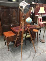 Sale 8782 - Lot 1705 - Tripod Floor lamp