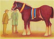 Sale 8813 - Lot 585 - Bob Marchant (1938 - ) - The Champion 75 x 55cm