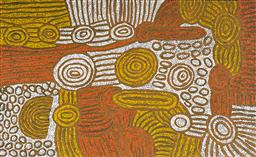 Sale 9148A - Lot 5023 - MARLENE YOUNG NUNGURRAYI (1973 - ) My Country acrylic on canvas 95 x 155 cm (stretched and ready to hang) signed verso; certificate ...