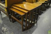Sale 8287 - Lot 1040 - G-Plan Teak Nest of Tables