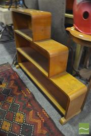 Sale 8326 - Lot 1211 - Stepside Bookcase