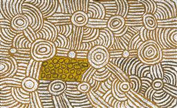 Sale 9098A - Lot 5036 - Marlene Young Nungurrayi (1973 - ) - My Country 94 x 152 cm (stretched and ready to hang)