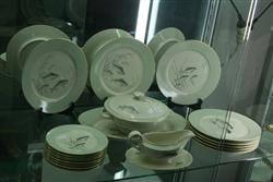 Sale 7914 - Lot 33 - Thomas Germany Dinner Set with Fish Design