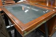 Sale 8013 - Lot 1149 - Timber Glass Front Display Cabinet
