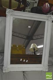 Sale 8418 - Lot 1061 - Mirror with Painted Frame