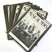 Sale 8793 - Lot 69 - Australian Musical News 1923-1929, box of about 50 illustrated magazines, very scarce