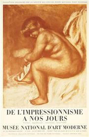 Sale 8794A - Lot 5099 - After Pierre-Auguste Renoir (1841 - 1919) - De LImpressionnisme A Nos Jours, 1958 74.5 x 49cm