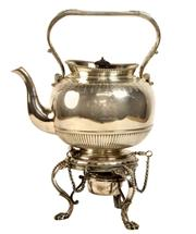 Sale 7937 - Lot 19 - Elkington & Co Silver Plated Kettle on Stand