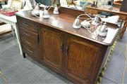 Sale 8159 - Lot 1047 - Two Door, Four Drawer Sideboard