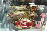 Sale 8296 - Lot 13 - Carlton Ware Rouge Royale Flying Duck Plate with Others incl. a Dish