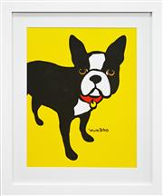 Sale 8296A - Lot 14 - Marc Tetro (XX) - Boston Terrier 49 x 40cm (frame 68 x 58cm)