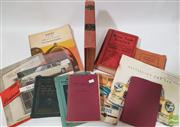 Sale 8900 - Lot 3 - Collection of Car Books & Ephemera incl. The Australian Monthly Motor Manual, 1947/48; Olds Motor Works , 1938 Oldsmobile Engine...