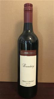 Sale 8520W - Lot 3 - 12x 2016 Eldredge 'Boundary' Shiraz Cabernet, Clare Valley 'A classic Clare Red, for any dinner table this winter'  The Bounda...