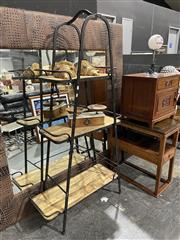 Sale 8876 - Lot 1017 - Trestle Style Stand