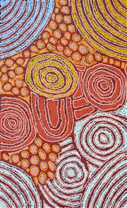 Sale 8161A - Lot 60 - Debra Young Nakamarra (1964 - ) - Womens Dreaming 95 x 60cm