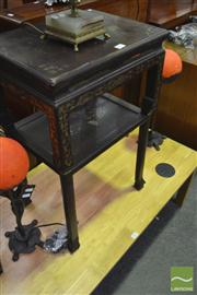 Sale 8251 - Lot 1033 - 19th Century Oriental Two Tier Occasional Table