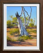 Sale 8309A - Lot 34 - Robyn Collier (1949 - ) - Outback in the Pilbara 40 x 30cm