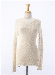 Sale 8891F - Lot 38 - An Isabel Marant lace long-sleeved top, size 4/6