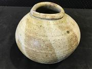 Sale 9039 - Lot 1074 - Studio Pottery Glazed Pinch Vase (h:16cm)