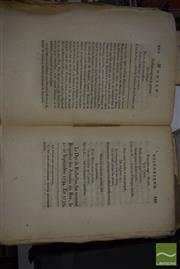Sale 8497 - Lot 2371 - Two French Volumes Correspondance du Marechal de Richelieu dated 1789 (A.F.)
