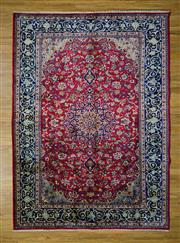 Sale 8559C - Lot 52 - Vintage Persian Kashan 306cm x 225cm