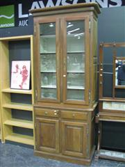 Sale 7932A - Lot 1107 - Bookcase with Glass Doors