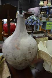Sale 8115 - Lot 1142 - A Large Ceramic Lamp base. Wired for electricity