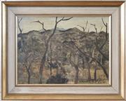 Sale 8620A - Lot 5 - Ray Crooke (1922 - 2015) - North West Queensland 29 x 38.5cm
