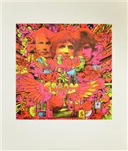 Sale 8256S - Lot 30 - Martin Sharp (1942 - 2013) - Disraeli Gears 42.5 x 42.5cm