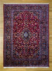 Sale 8559C - Lot 53 - Vintage Persian Kasahn 280cm x 208cm
